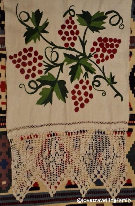 Folk decorative towel