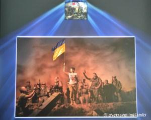 Projectio exhibition, airport Kiev, Ukraine