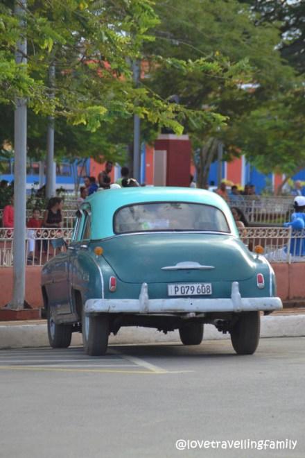 Old Cuban car Remedios, Cuba
