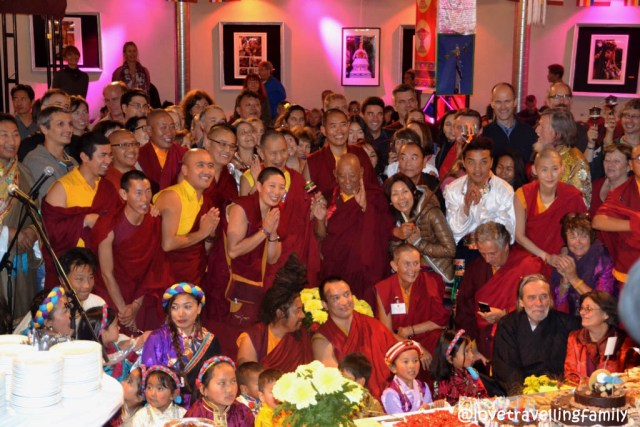 80th birthday of the Tibetan Buddhist teacher Garchen Rinpoche