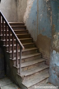 Stairs Old Town, Tbilisi, Georgia