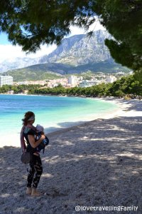 Love travelling family, Croatia travelling with a baby