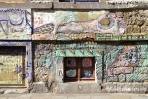 Street art Neustadt, Dresden, Germany