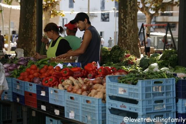 Inca market, Mallorca, Spain