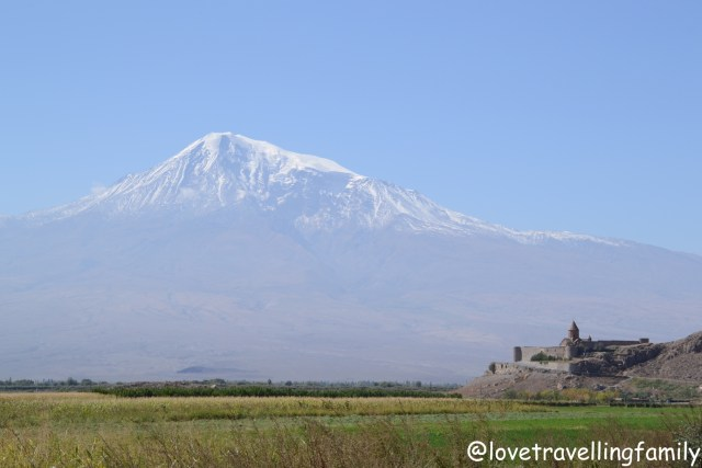 Monastery Khor Virap and Mount Ararat, Armenia