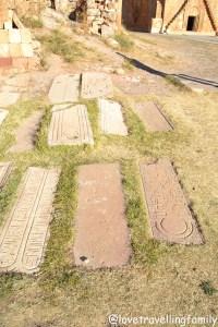 Gravestones, Noravank, Armenia