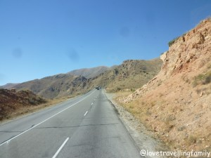 Road to Areni, Armenia