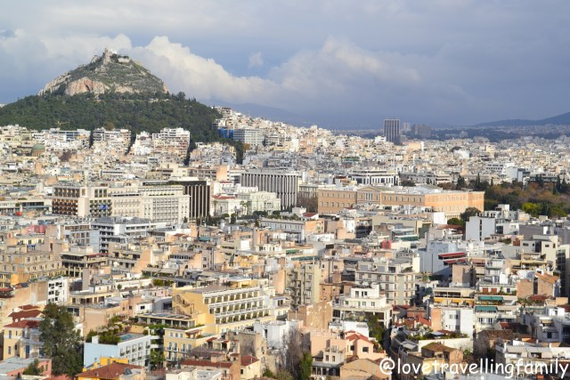 Panorama of Athens, Athens, Greece