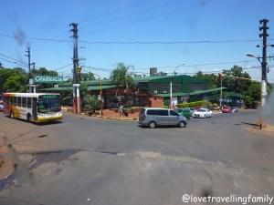Bus station in Puerto Iguazú, Argentina