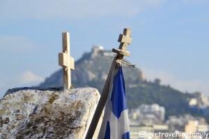 Orthodox church in Plaka, Athens, Greece