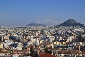Panorama, Plaka, Athens, Greece