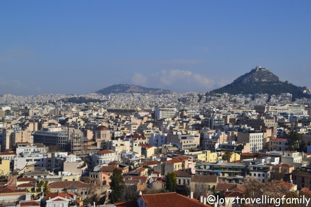 Panorama, Plaka, Athens, Greece