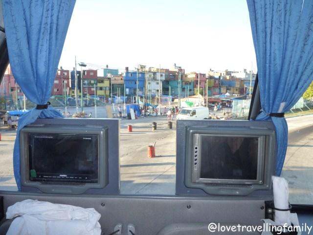 Rio Uruguay bus from Buenos Aires to Puerto Iguazu