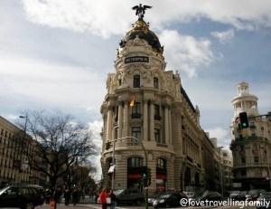 Edificio Metrópolis and Gran Via, Madrid, Spain