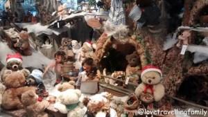 Galeria Kaufhof München Marienplatz Christmas Steiff´s Weihnachtszaube