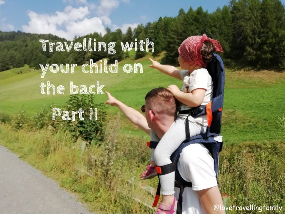 Travelling with your child on the back - Part II, MiniMeis