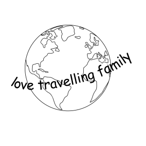 love travelling family