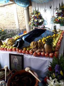 Dia de los muertos in Ocotepec - private house 3