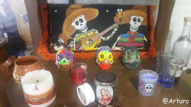 dia de los muertos - altar