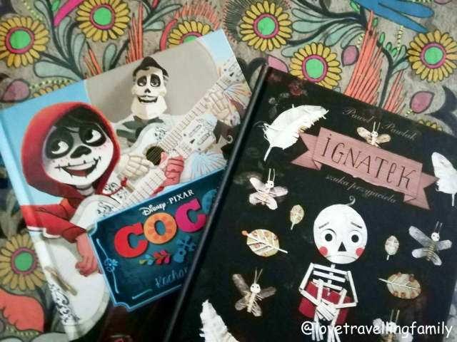 dia de los muertes book: coco, ignatek