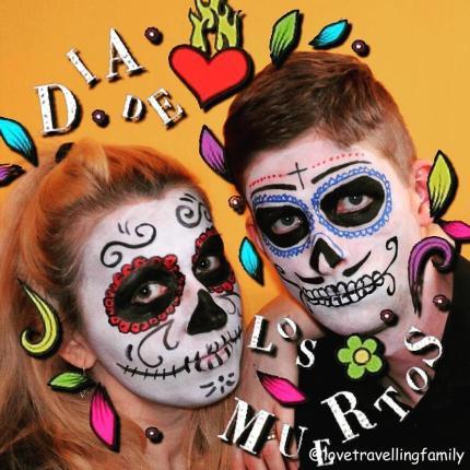 dia de los muertos - sugar skull