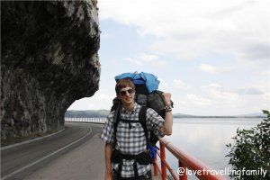 Hitch-hiking to Golubac, Serbia, 2011 Love travelling family