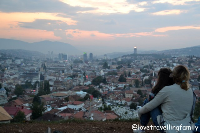 Sarajevo Bosnia and Herzegovina, 2018 Love travelling family