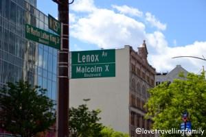 W 125th Street, Harlem New York, Love travelling family