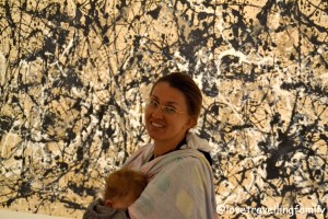 Jackson Pollock at the Met, Love travelling family, Museum with kids