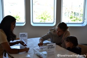 Kids event in Whitney Museum of American Art, Love travelling family