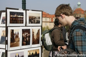 Charles Bridge, Prague, Love travelling family