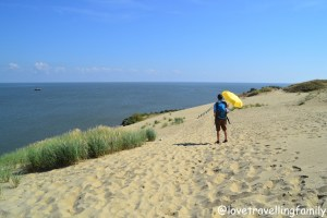 Curonian Spit the Great Dune Lithuania with kids Love travelling family