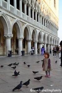 Doge's Palace Venice and Italy with kids. Family travels Love travelling family