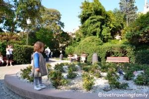 Giardini Reali di Venezia, the Royal Gardens Venice Love travelling family