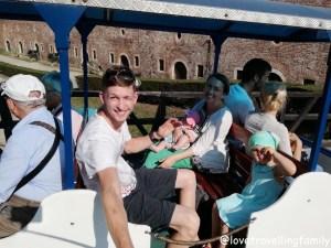 Little train ride Kalemegdan, Serbia, Belgrade with kids, Love travelling family