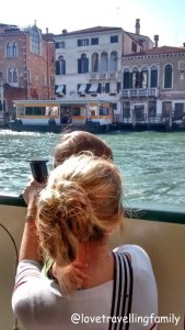 On Vaporetto Venice and Italy with kids. Family travels Love travelling family (2)