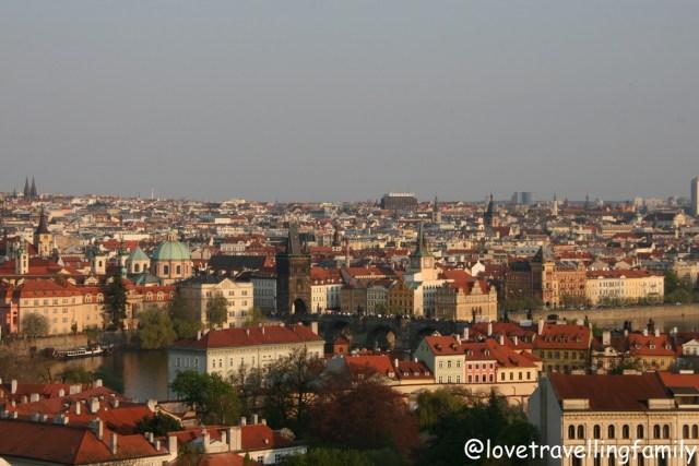Prague Castle, Love travelling family