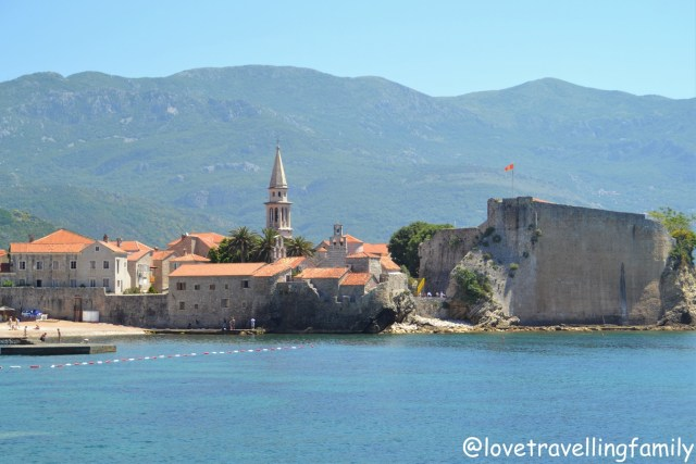 The Old Town, city walls, and citadel, Budva, Montenegro with kids