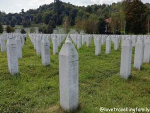 Srebrenica, Potočari Memorial Center and Cemetery. Srebrenica Genocide Memorial. Bosnia and Herzegovina