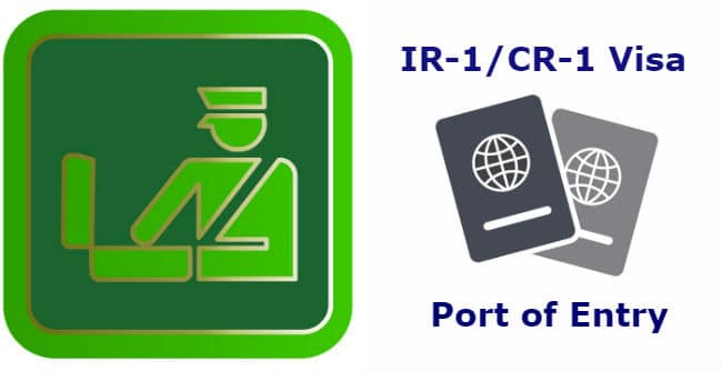 Port of Entry US Spouse Visa Immigration Customs - LoveVisaLife