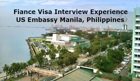 Fiance Visa Interview Experience US Embassy Manila - LoveVisaLife