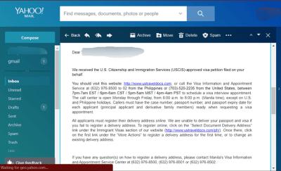 US Spouse Visa DCF Philippines USCIS Phase - LoveVisaLife
