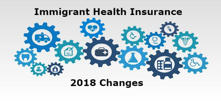 Immigrant health insurance 2018 changes