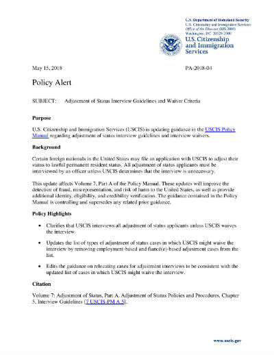 Uscis Interview Results