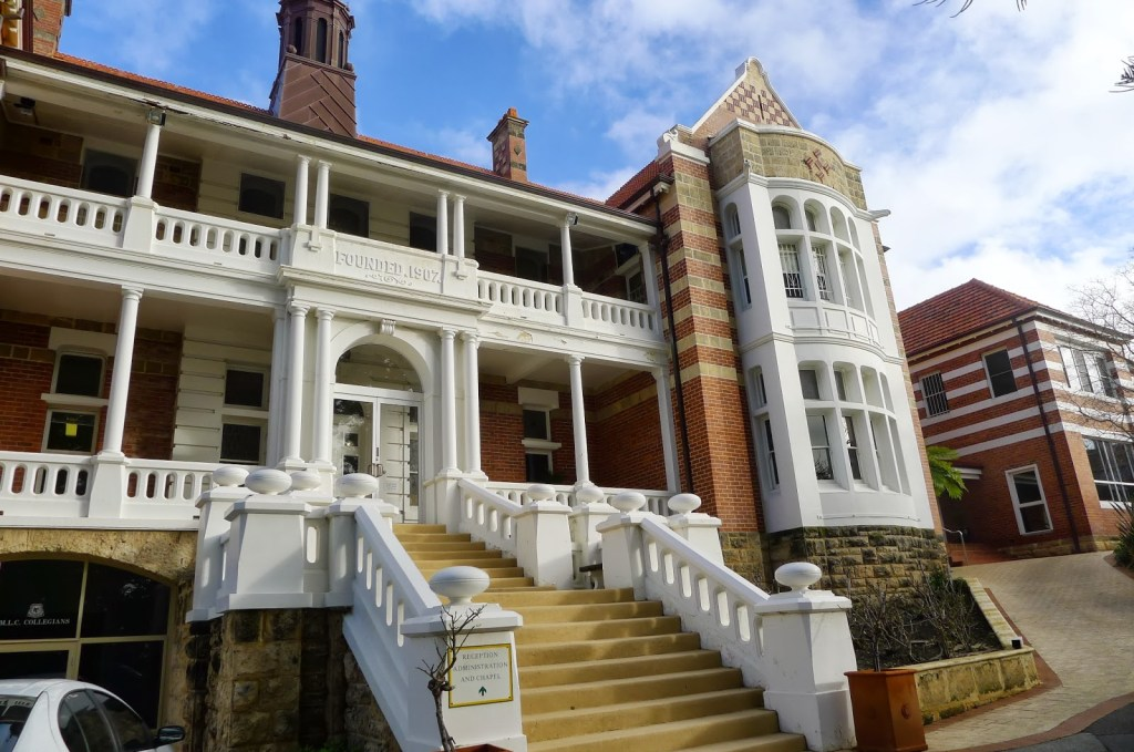 The girl's old school - Methodist Ladies' College, located within 15 mins walk from Claremont Quarter.
