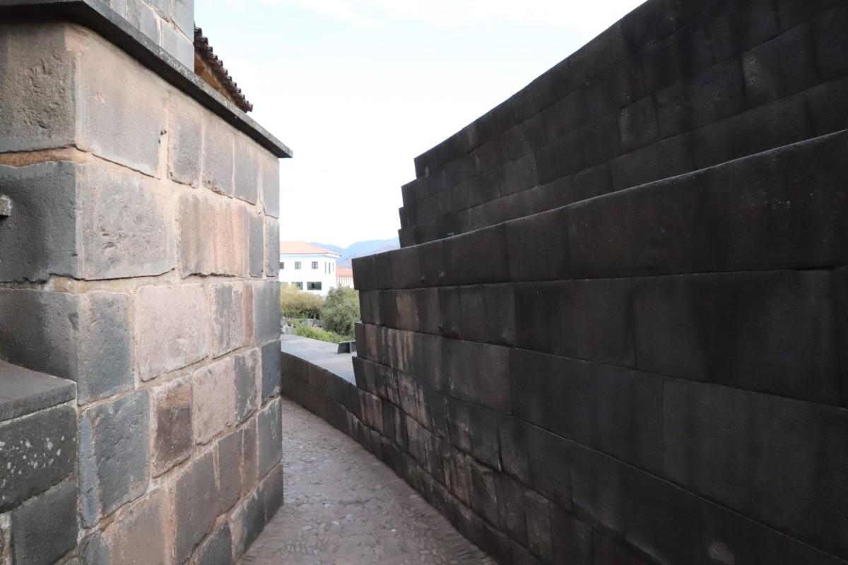 Cusco Temple Qoricancha external walk