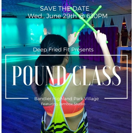 love you more too north dallas blogger plano lifestyle blogger food and fitness events movemeant foundation deep fried fit pound class