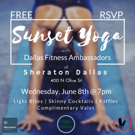 love you more too north dallas blogger plano lifestyle blogger food and fitness events sunset yoga dallas fitness ambassadors