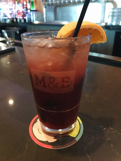 Blueberry Ginger Sangria at Moviehouse & Eatery McKinney