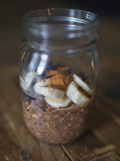 Chocolate Oatmeal Cookie Overnight Oats recipe food blogger North Dallas Blog Blogger Love You More Too Trader Joe's Favorites